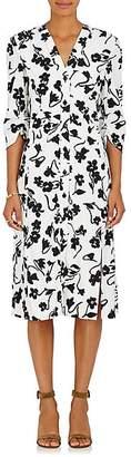 Altuzarra WOMEN'S AIMEE CADY FITTED SHEATH DRESS - BLACK PAT. SIZE 36 FR