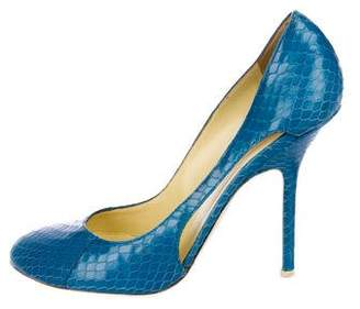 DSQUARED2 Embossed Leather Pumps