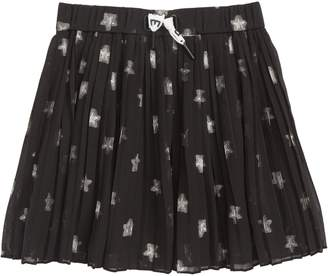 Scotch R'Belle Pleat Jacquard Skirt