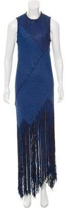 Proenza Schouler Sleeveless Fringe Dress