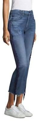 Higher Ground Fringe Crop Jeans