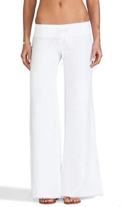 Krisa Wide Leg Linen Pant