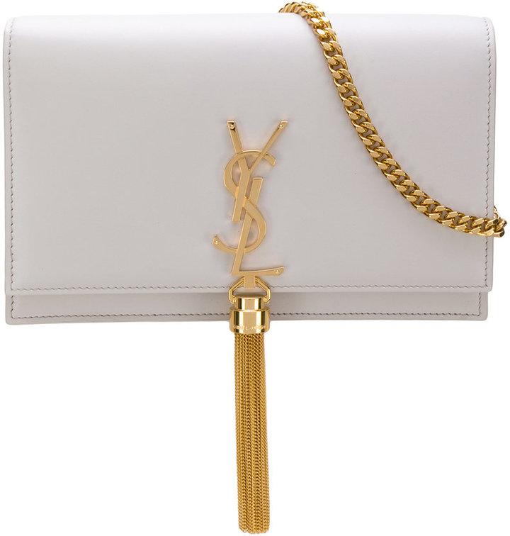 Saint Laurent small Kate tassel satchel