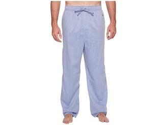 Nautica Big Tall Herringbone Plaid Sleep Pants
