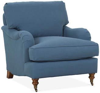 Robin Bruce Brooke Club Chair - Indigo Crypton
