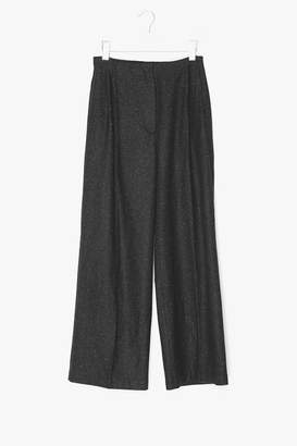 Genuine People Wool Wide Leg Pants
