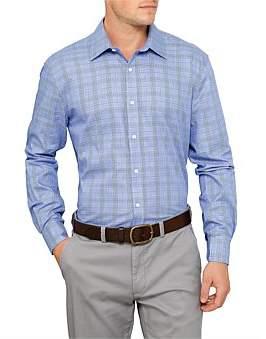 David Jones Prince Of Wales Check Shirt