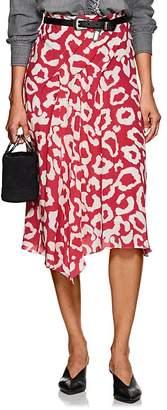 Isabel Marant Women's Cacia Silk Asymmetric Midi-Skirt