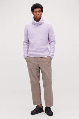 Cos RELAXED ROLL-NECK JUMPER