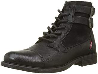 Levi's Women's Maine W Biker Boots, (Noir Regular Black 59)