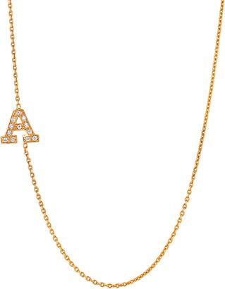Ariana Rabbani 14K Diamond A-Z Necklace