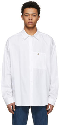 Acne Studios Bla Konst White Gianni Shirt