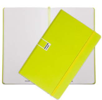 Pantone NEW Sulphur Spring Large Plain Elastic Band Notebook