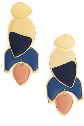 Lizzie Fortunato Blue Horizon Drop Earrings