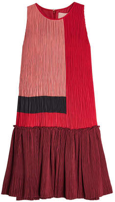 Roksanda Pleated Crepe Dress