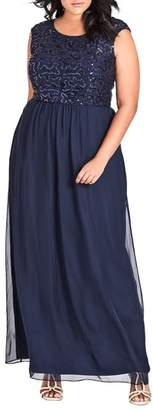 City Chic Sweet Love Maxi Dress