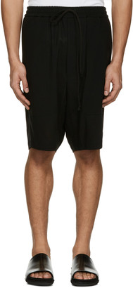 Song for the Mute Black Pocket Shorts $570 thestylecure.com