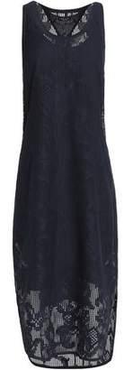 Rag & Bone Crocheted Cotton-Blend Lace Midi Dress