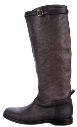 Henry Cuir Leather Knee-High Boots