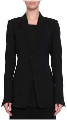 Rick Owens Black Wool Soft Blazer