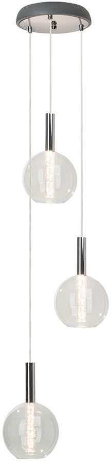 EEK A+, LED-Pendelleuchte Elegant 3-flammig