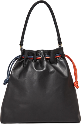Clare V. Grand Henri Drawstring Bag $395 thestylecure.com
