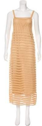 Elizabeth and James Crocheted Maxi Dress