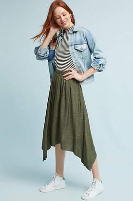 Lacausa Jacquard Asymmetrical Skirt