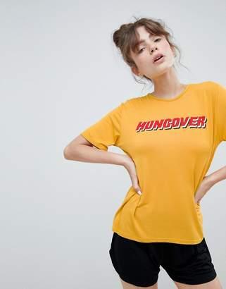 Adolescent Clothing hungover t-shirt and shorts pyjama set