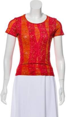 Kenzo Short Sleeve Printed Top
