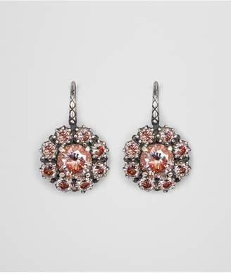 Bottega Veneta Earring In Zirconia And Enamel