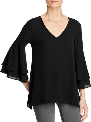 Status by Chenault Bell-Sleeve Top - 100% Exclusive $78 thestylecure.com