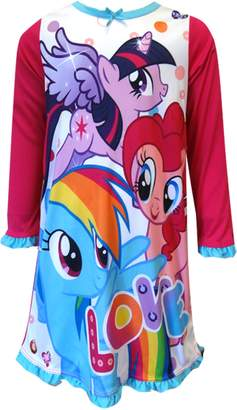 My Little Pony MLP Love of Friends Nightgown for Little Girls