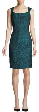 Nipon Boutique Graphic Sheath Dress