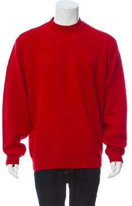 Burberry Shetland Wool Crew Neck Sweater
