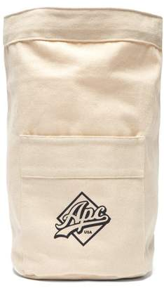 A.P.C. (アー ペー セー) - A.P.C. A.p.c. - Canvas Drawstring Backpack - Mens - White