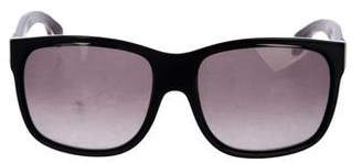 Alexander McQueen Oversize Gradient Sunglasses