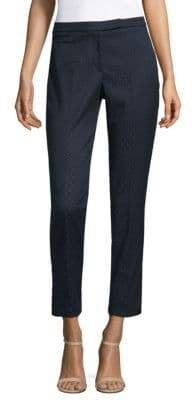 Peserico Diamond-Patterned Zip-Front Pants