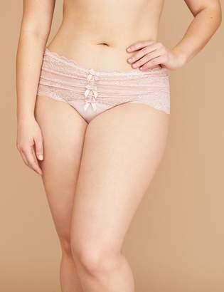 Lane Bryant Lace Wide-Side Thong Panty