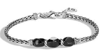 John Hardy Classic Chain Slim Triple-Stone Bracelet