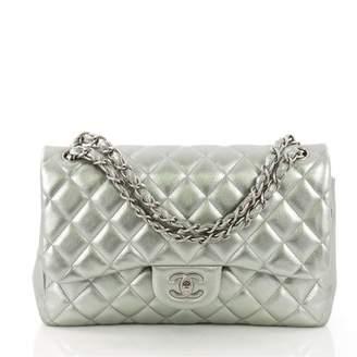 Chanel Timeless/Classique Metallic Leather Handbag