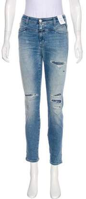 Closed Mid-Rise Skinny Jeans w/ Tags