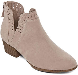 Arizona Womens Julian Block Heel Booties