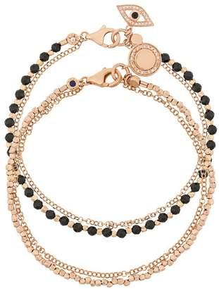Astley Clarke Spinel Evil Eye bracelet stack