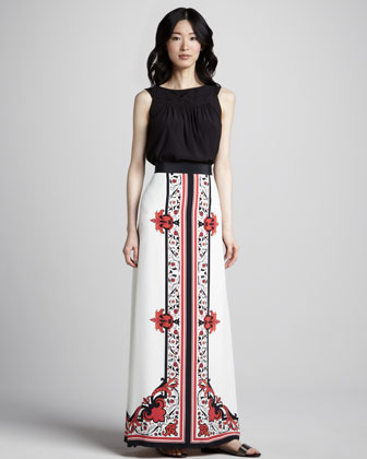 ALICE by Temperley Long Printed Skirt
