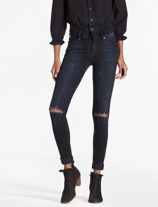 Lucky Brand BROOKE LEGGING JEAN IN CACTUS FLATS