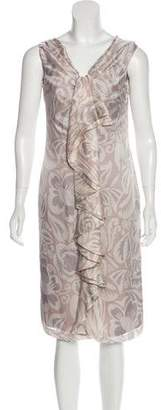 Valentino Printed Silk Dress w/ Tags