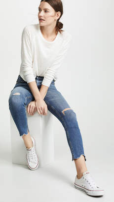 Rag & Bone High Rise Ankle Skinny Jeans