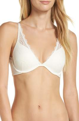 Spanx R) Undie-tectable Underwire Push-Up Plunge Bra