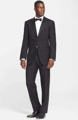 Canali 13000 Classic Fit Wool & Mohair Tuxedo